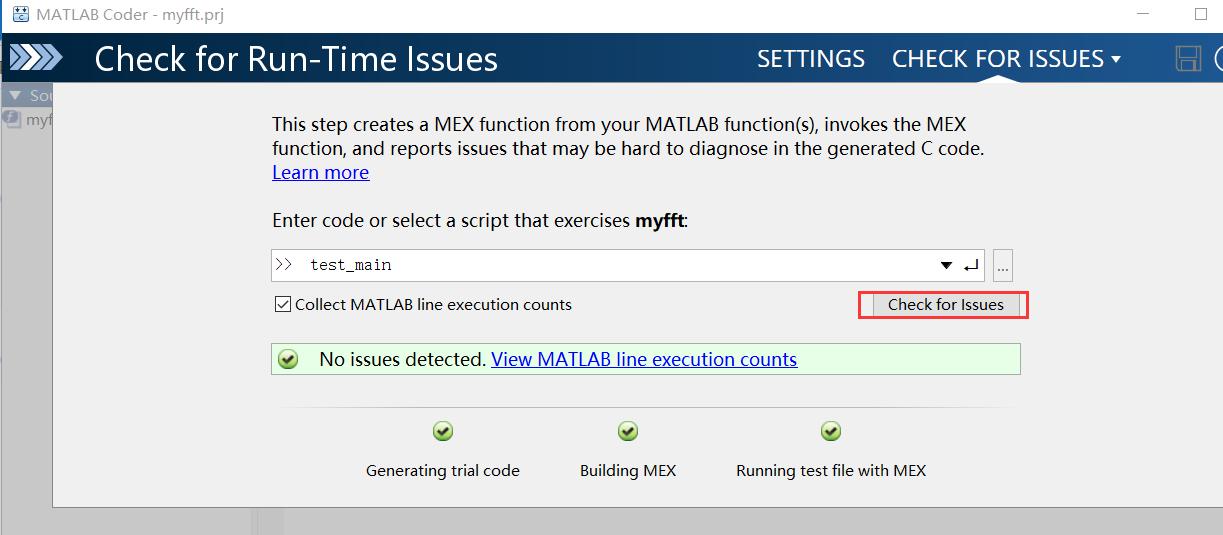 Convert matlab code to c code based on Matlab Coder - Programmer Sought