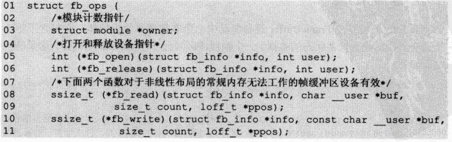7 framebuffer driver detailed - Programmer Sought