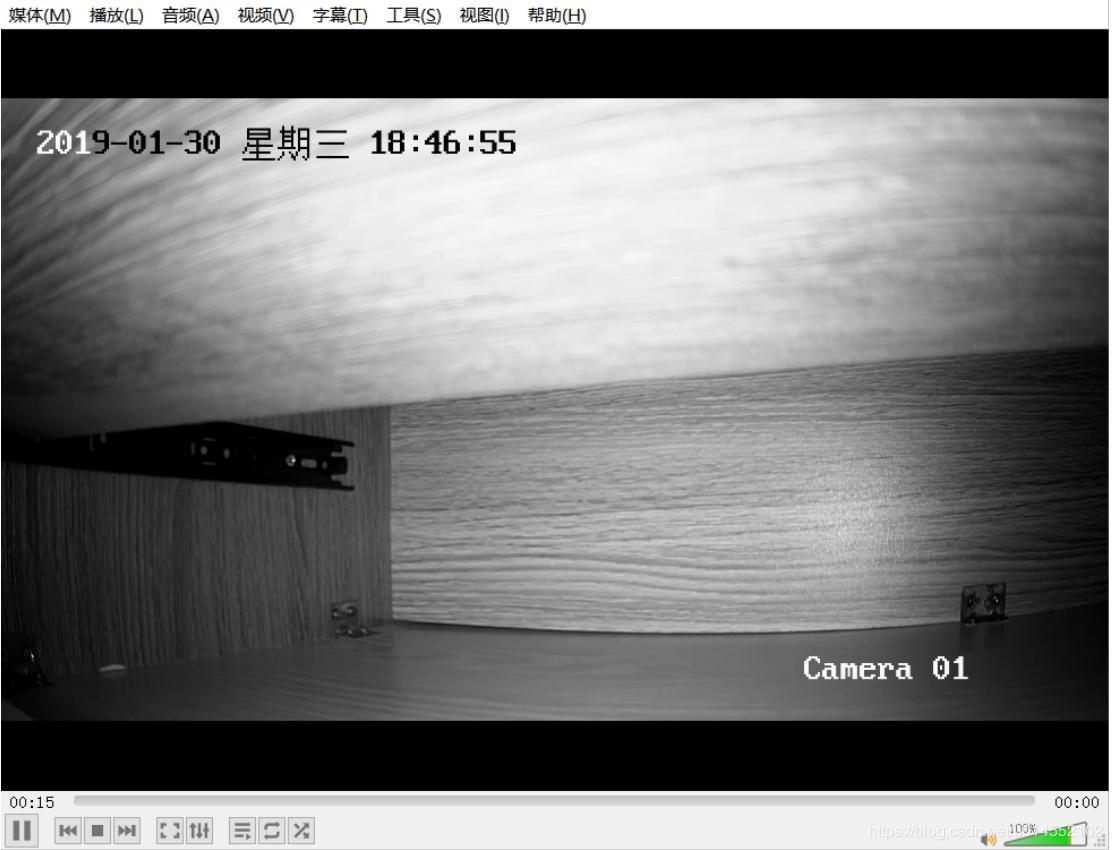 Use vlc to display the video of Haikang network camera