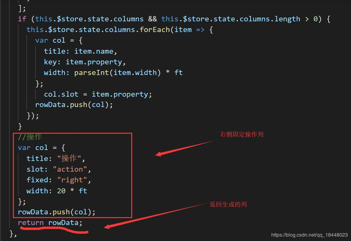 Table Dynamically Load Column Iview Starting From 3 2 0 Programmer Sought