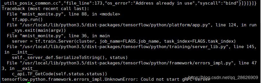 Error: tensorflow python framework errors_impl UnknownError