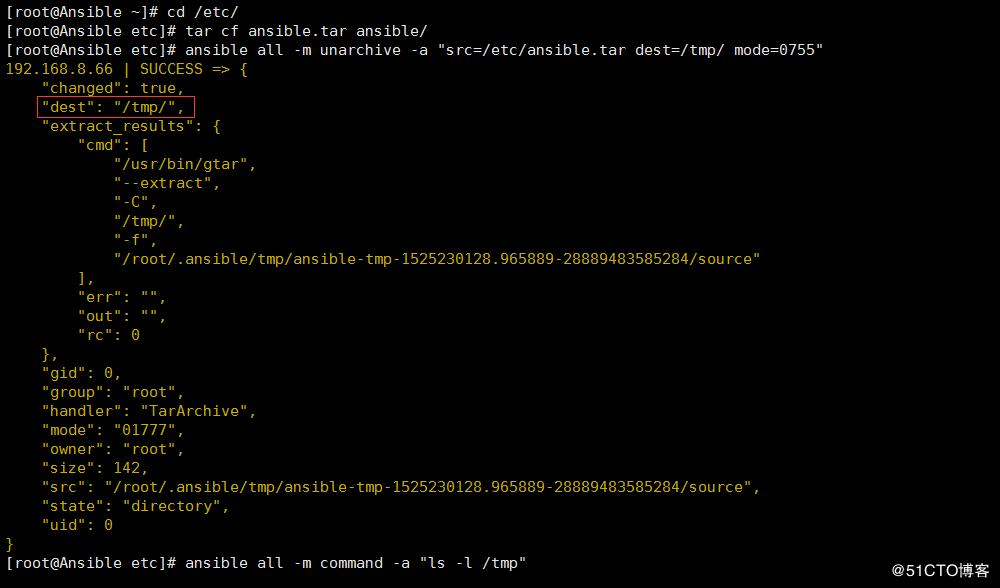 Automated operation and maintenance tool Ansible combat