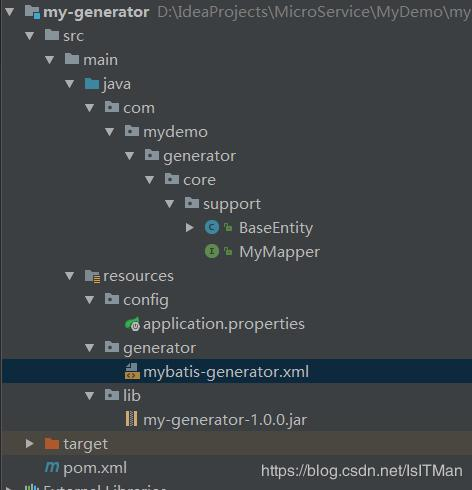 MyBatis Generator generated code widget, Mybatis code