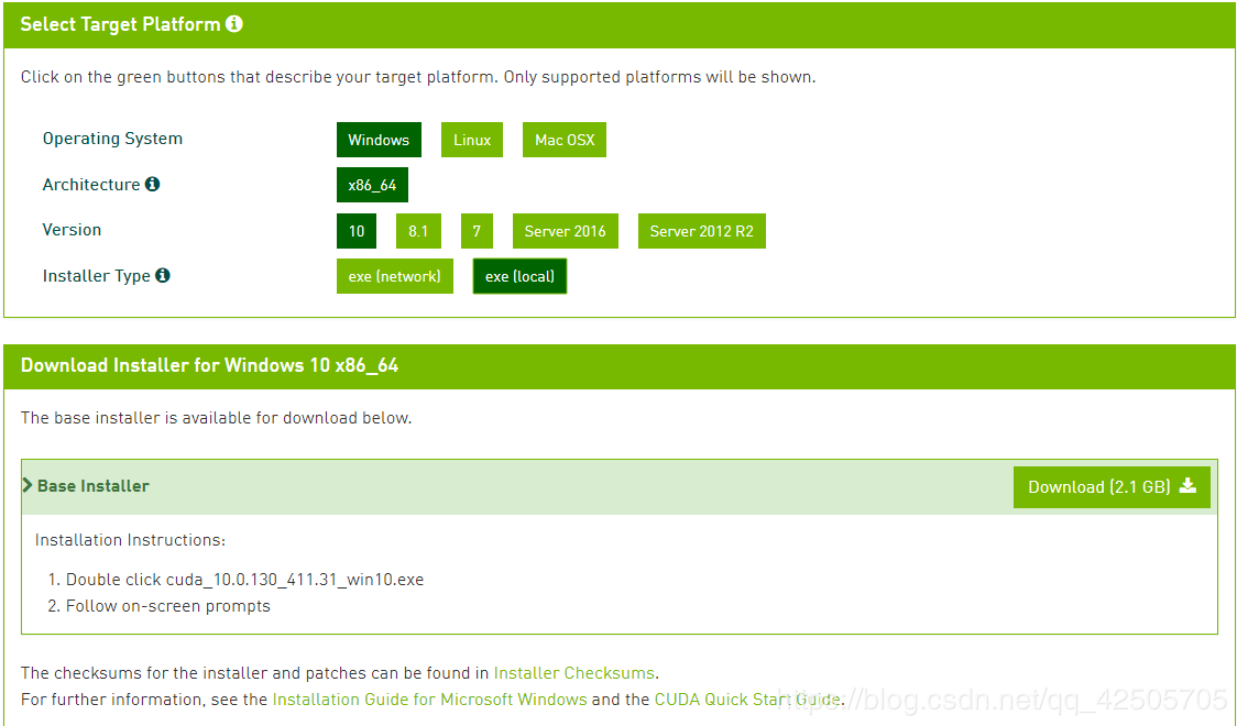 Win10 super full Tensorflow-gpu installation + CUDA + cuDNN