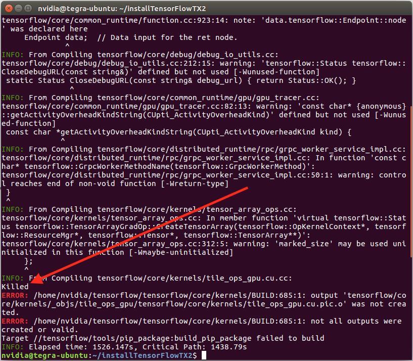 Install TensorFlow on NVIDIA Jetson TX2 - Programmer Sought